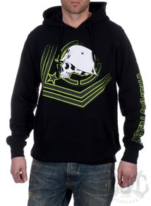 Metal Mulisha Check Point Hoodie, Svart