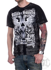 Affliction Saints N Sinners Tee