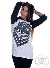 Metal Mulisha Motive Raglan Boyfriend Fit