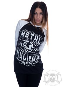 Metal Mulisha Signal Raglan Boyfriend Fit
