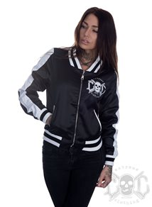 eXc Striped Skull Jacket, svart