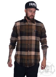 Depalma Flannel Shirt, Brown