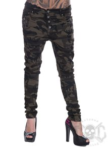 eXc Zip Camo Denim